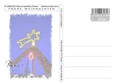 Ansichtskarte Nonnweiler-Adventskranz