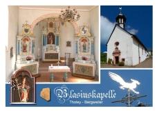 Ansichtskarte Bergweiler Blasiuskapelle