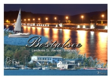 Ansichtskarte Bostalsee 002