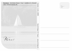 Ansichtskarte Bostalsee - Surfer