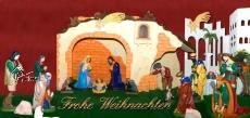 Klappkarte Weihnachtskrippe Neunkirchen/Nahe