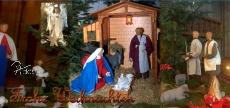 Klappkarte Weihnachtskrippe Tholey