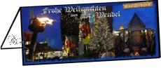 Klappkarte Mittelalter-Weihachtsmarkt St. Wendel