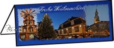 Klappkarte Weihnachtsmarkt St. Wendel