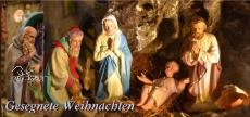 Klappkarte Weihnachtskrippe Urweiler