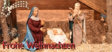Klappkarte Weihnachtskrippe  Remmesweiler