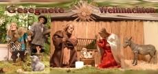 Klappkarte Weihnachtskrippe Niederlinxweiler