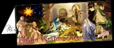 Klappkarte Weihnachtskrippe  Nohfelden-Gonnesweiler