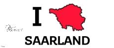 Tasse -  I ♥ SAARLAND