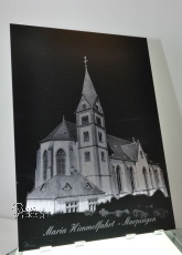 Alu-Dibond Marpingen Kirche 1
