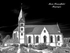Alu-Dibond Marpingen Kirche 2