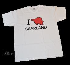 T-Shirt - I LOVE SAARLAND