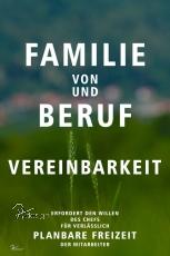 Spruch-Karte FAMILIE UND BERUF