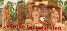 Klappkarte Weihnachtskrippe  Nonnweiler - Braunshausen