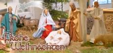 Klappkarte Weihnachtskrippe  Nonnweiler -Kastel - NEU