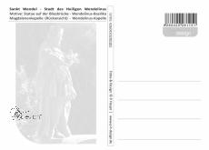 Ansichtskarte Wendelinusstadt St. Wendel