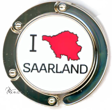 Taschenhalter I LOVE SAARLAND