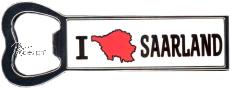 FLASCHENÖFFNER magnetisch I LOVE SAARLAND