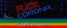 Tasse - FUCK CORONA - STAY AWAY 02