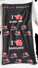 Multifunktionstuch I LOVE SAARLAND - BLACK