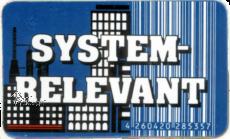 Bundle Magnet-Stickers BLEIB GESUND + SYSTEMRELEVANT + 2020-ABGESAGT