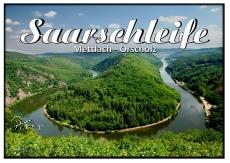 Ansichtskarte Saarschleife