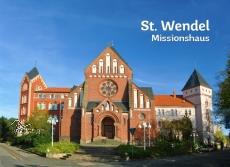 Glas-Deko-Magnet St. Wendel - Missionshaus