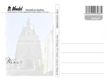 Ansichtskarte Wendelinus-Basilika