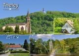 Ansichtskarte Theley