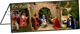 Klappkarte Weihnachtskrippe Wendelinus-Basilika St. Wendel