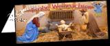 Klappkarte Weihnachtskrippe  Nohfelden-Eiweiler