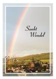 Ansichtskarte St. Wendel - Regenbogen