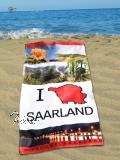 Handtuch I ♥ SAARLAND