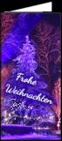 Klappkarte Bergweihnacht Schaumberg