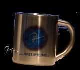Edelstahl-Tasse groß Ihr Motiv