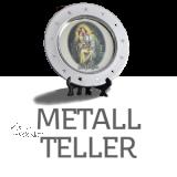 Metall-Teller Ø 15 cm