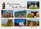Ansichtskarte Erinnerungen an St. Wendel
