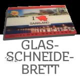 Schneidebrett Glas - Ihr MOTIV