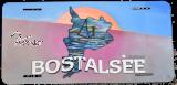 US-Autokennzeichen BOSTALSEE GEMÄLDE