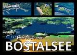 Postkarte Bostalsee von oben
