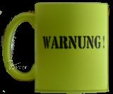 Tasse - WARNUNG