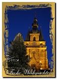 Postkarte Weihachten St. Wendel