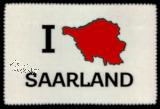 Glasreinigungstuch I LOVE SAARLAND