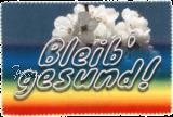 Glasreinigungstuch BLEIB GESUND