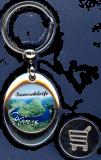 Schlüsselanhänger Einkaufswagenchip SAARSCHLEIFE