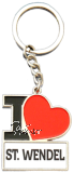Schlüsselanhänger I LIKE ST. WENDEL