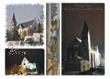 Ansichtskarte Kirche im Winter